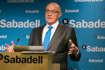 Banco Sabadell gana 653,8 millones hasta septiembre, un 1,1 % más