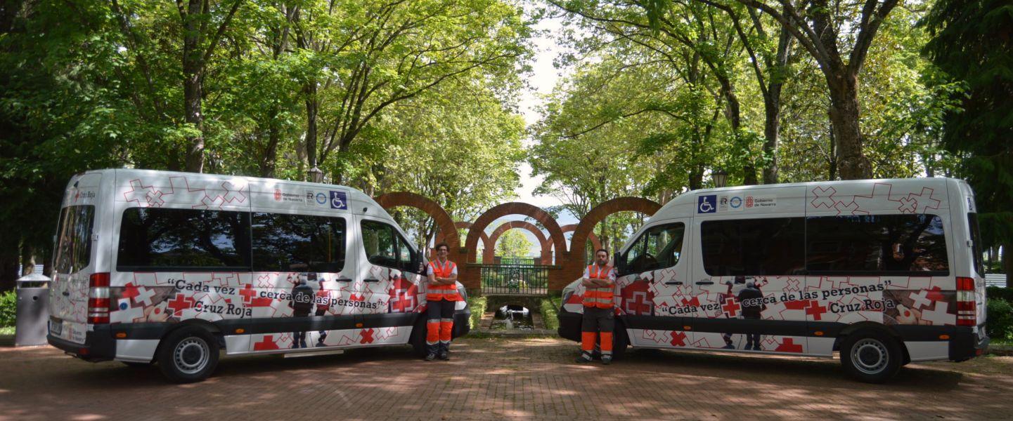Cruz Roja renueva flota de Transporte Adaptado y asistido