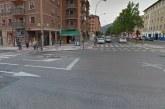 Fallece atropellada una mujer de 35 años en la Rochapea, Pamplona