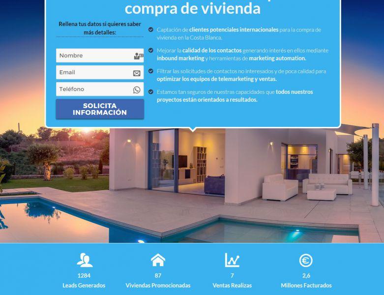 Un alicantino diseña un algoritmo único para vender viviendas a extranjeros