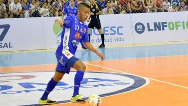 "Osasuna Magna ficha al brasileño ""Bynho"", del Joaçaba Futsal"