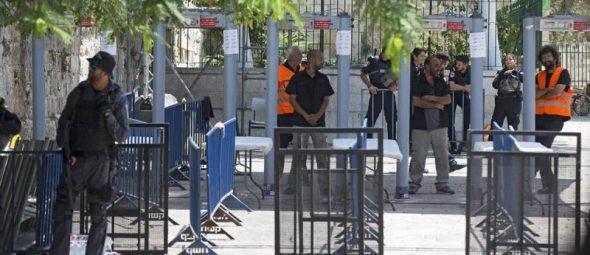 Israel retira los detectores de metal de las entradas de Al Aqsa