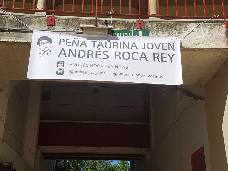 Agradecimiento a Andrés Roca Rey