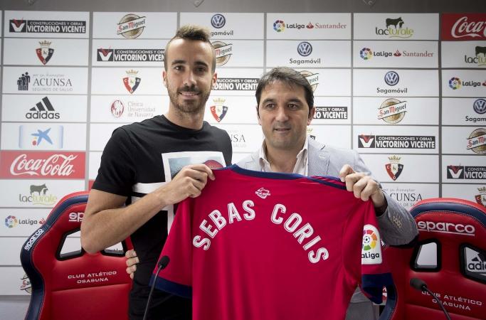 Sebas Coris: «Tengo muchas ganas de jugar en El Sadar, que es un campo de Primera División»