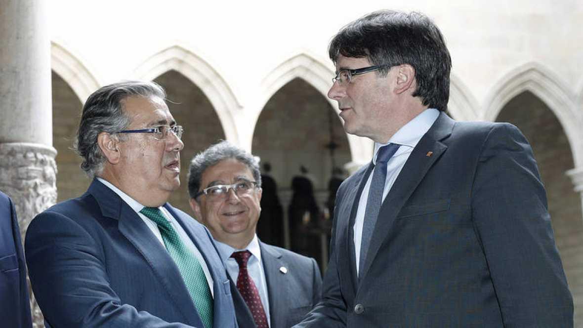 Zoido espera que los Mossos no sean obligados a incumplir la ley con el nuevo jefe