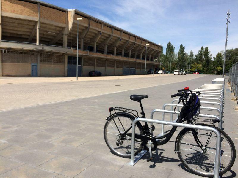 San Fermín de Aldapa: El Ayuntamiento habilita un aparcamiento gratuito y vigilado de bicicletas
