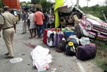 Mueren cuatro españoles y siete resultan heridos en un accidente de autobús en India