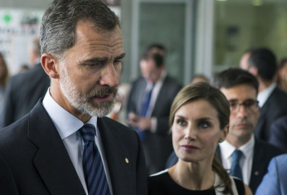 """El Rey Felipe: """"No tenemos miedo ni lo tendremos nunca"""""""