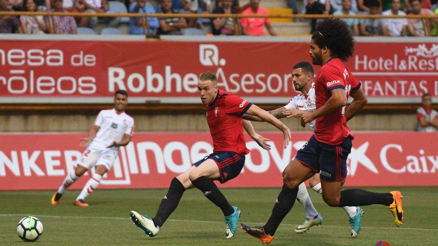 Osasuna retoma el trabajo con la vista puesta en el Barcelona B