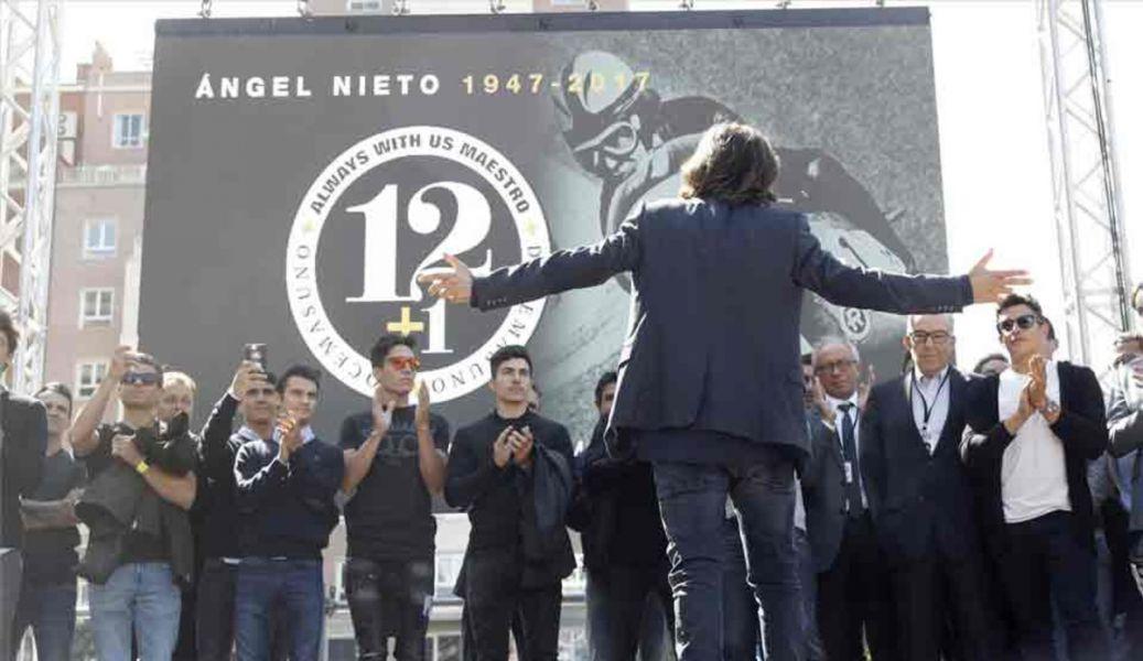 45.000 motos rinden homenaje a Angel Nieto