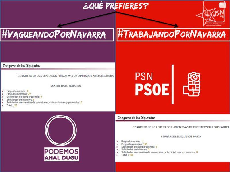 El vídeo de JSN que muestra la inacción parlamentaria del Secretario General de Podemos