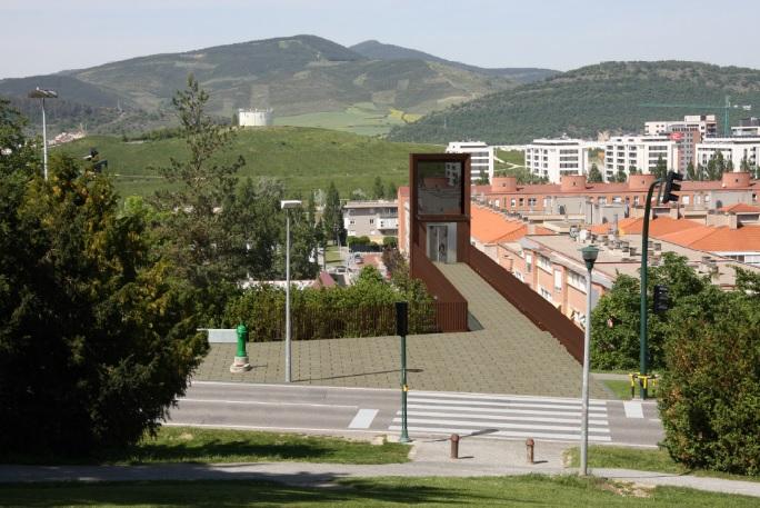 Adjudicadas las obras de construcción del ascensor de Mendillorri