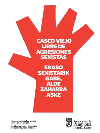 El Ayuntamiento de Pamplona habilitará un punto de información sobre agresiones sexistas para San Fermín de Aldapa