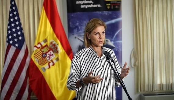 Cospedal:Ninguna previsión hace pensar que el Ejército intervenga en Cataluña