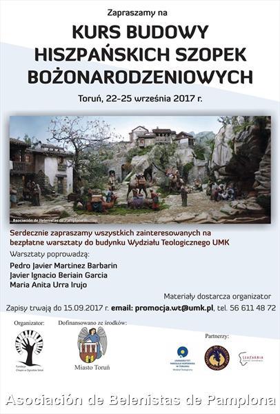 Belenistas de Pamplona impartirán un curso en Polonia