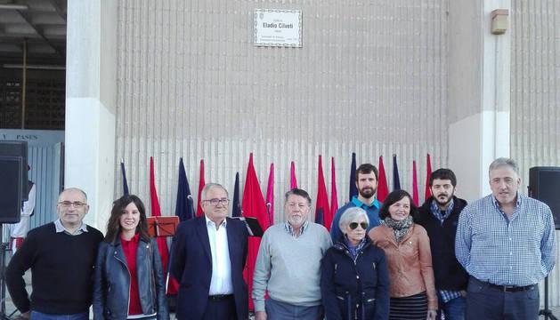 Eladio Cilveti, fundador de Osasuna, da el nombre al vial junto a El Sadar
