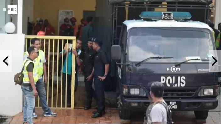 24 muertos y 4 heridos en el incendio de una escuela musulmana en Malasia