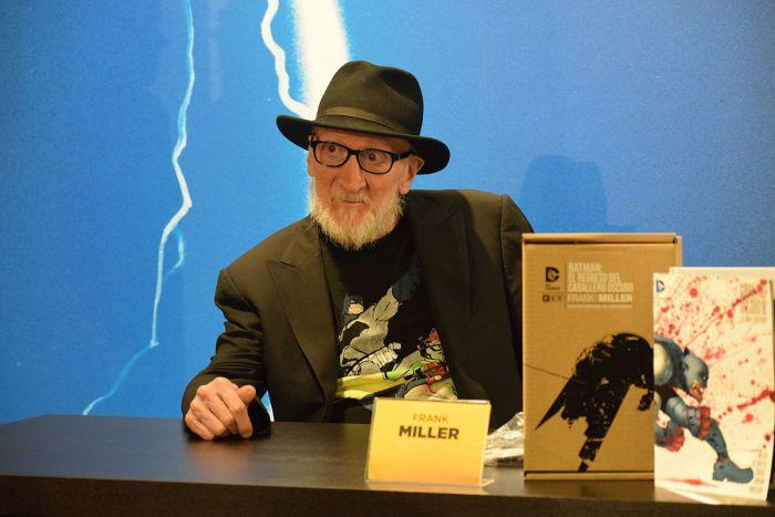 Frank Miller se convierte en el mayor reclamo de la Heroes Comic Con Madrid