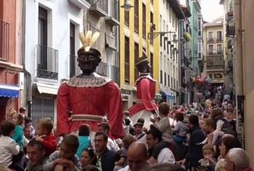Los Gigantes de Pamplona saldrán este sábado por la tarde en San Fermín Chiquito