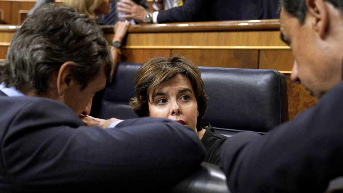 """El Gobierno pide unidad frente al 1-O y dice que la """"única unilateralidad que cabe es la de 47 millones de españoles"""""""