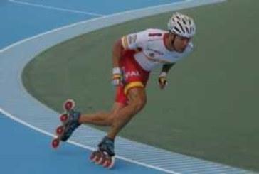 Ioseba Fernández bate el récord del mundo de los 100 metros circuito de patinaje de velocidad