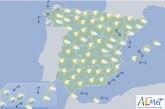 En España hoy un frente atlántico afectará al tercio norte con cielos cubiertos y precipitaciones en Galicia