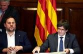 """Puigdemont difunde los colegios electorales del 1-O y anuncia """"planes de contingencia"""" para votar"""