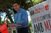 Sánchez: El PSOE obligará a Rajoy a buscar una solución pactada para Cataluña