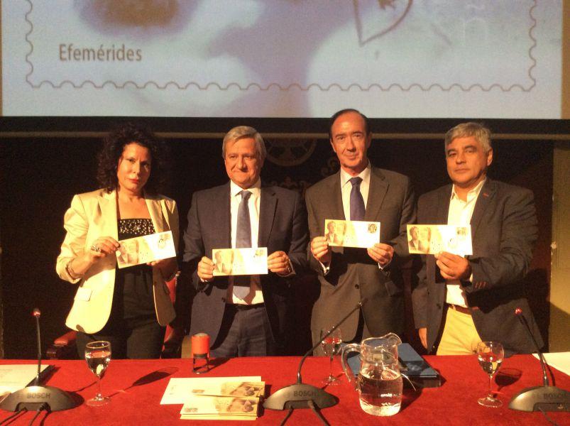 Correos presenta un sello conmemorativo del 75 Aniversario de la muerte de Miguel Hernández