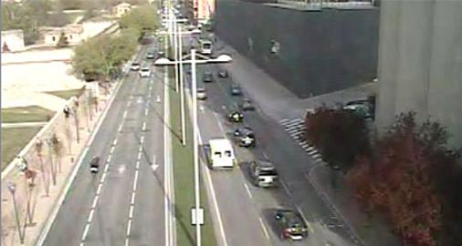 Alteraciones hoy en el tráfico en Pamplona