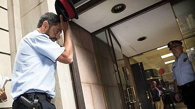 """Trapero alega que los Mossos deben de aplicar con """"proporcionalidad"""" la orden de la Fiscalía"""