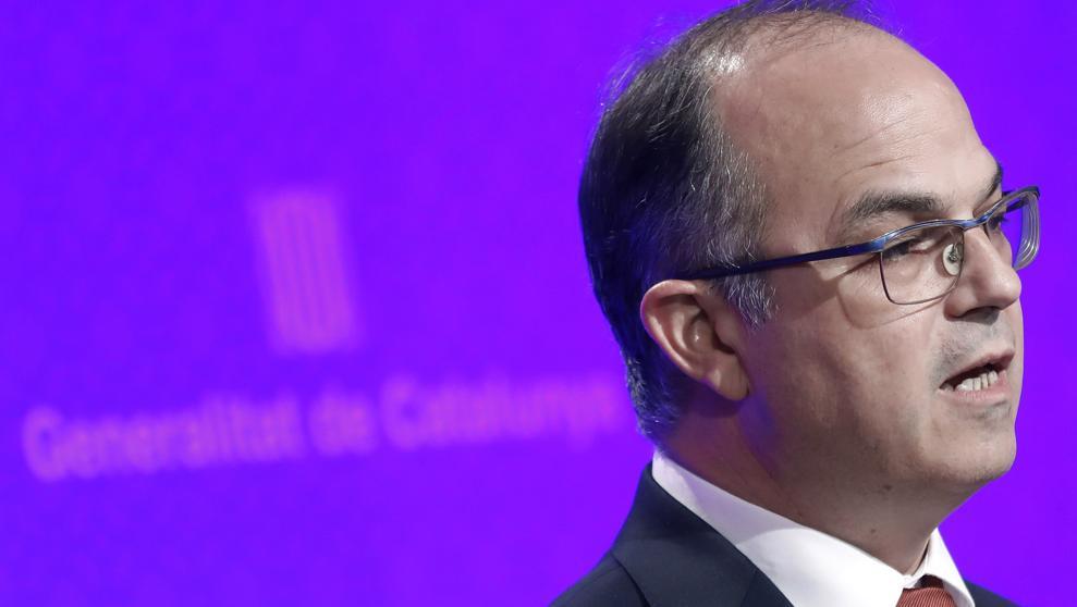 "Turull afirma que no está ""sobre la mesa"" que Puigdemont convoque elecciones"