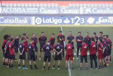 Osasuna regresa a los entrenamientos tras la victoria ante el Real Valladolid
