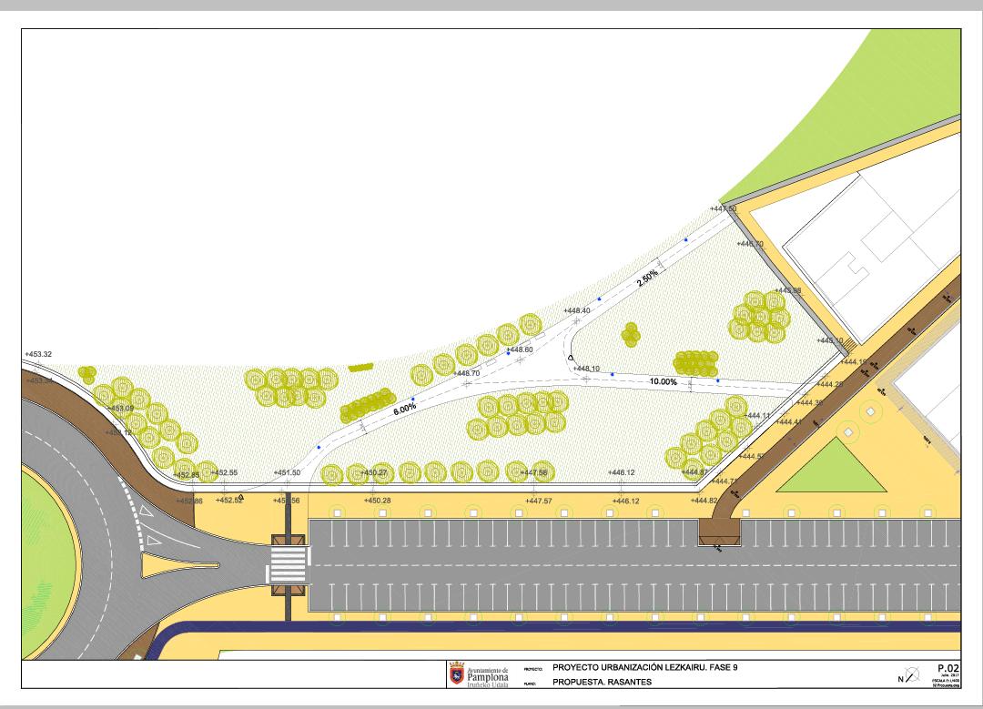 El Ayuntamiento destina 89.128 euros a acondicionar la ladera junto a las casas del Soto de Lezcairu