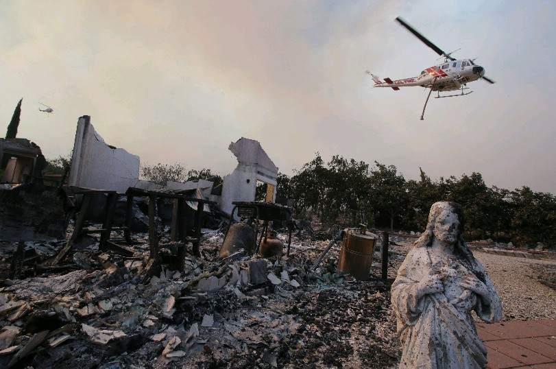 Los incendios de California son ya los más letales de su historia