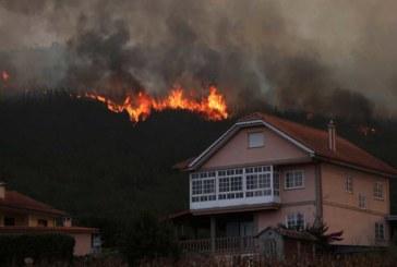 El primer detenido en Galicia por los incendios quemó en finca a 300 metros de las casas
