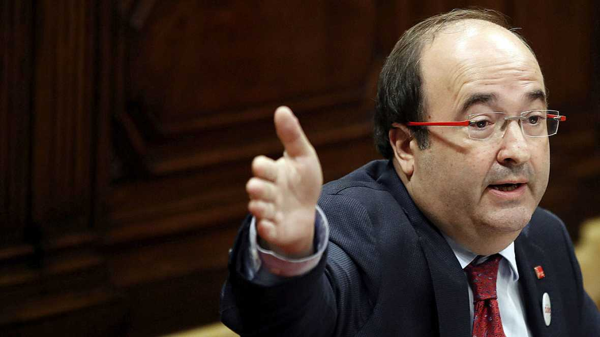 El Parlamento catalán rechaza avalar a Iceta como senador por el 'no' independentista