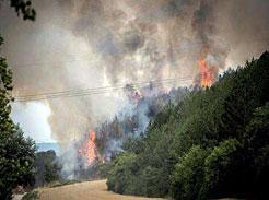 Bomberos de Navarra ha intervenido en 402 incendios en el verano de 2017