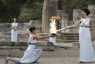 Olimpia enciende la llama que alumbrará los Juegos de PyeongChang 2018