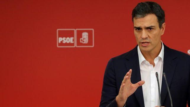 Pedro Sánchez presenta una moción de censura contra Rajoy