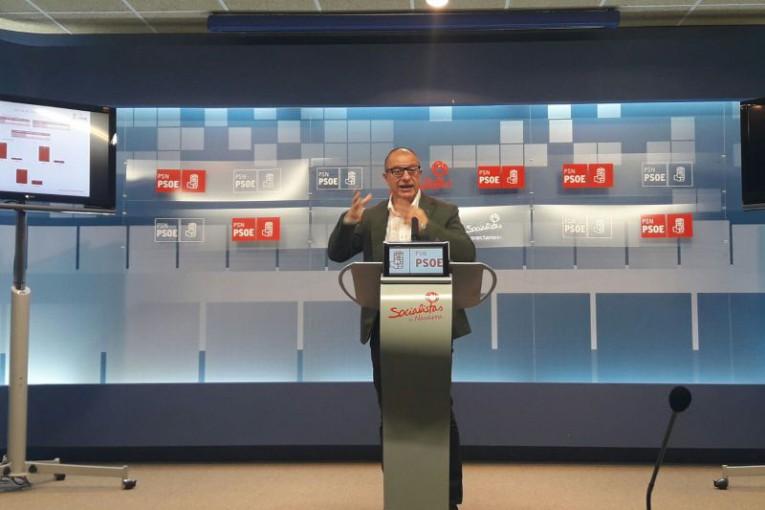 Carlos Gimeno, Portavoz de Educación del PSN en el Parlamento de Navarra
