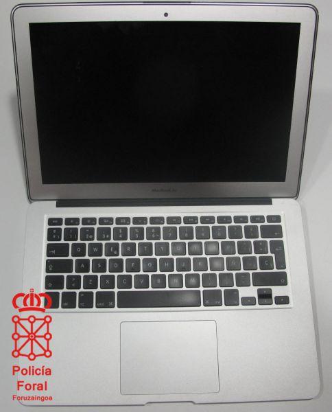 Detenido por robar un ordenador portátil en el hospital de Estella