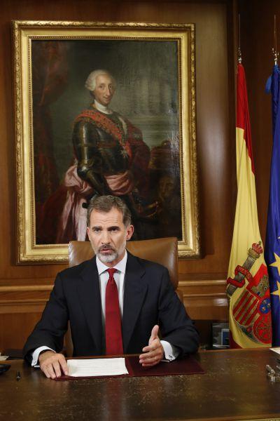 Mensaje íntegro del Rey a la Nación sobre la independencia de Cataluña