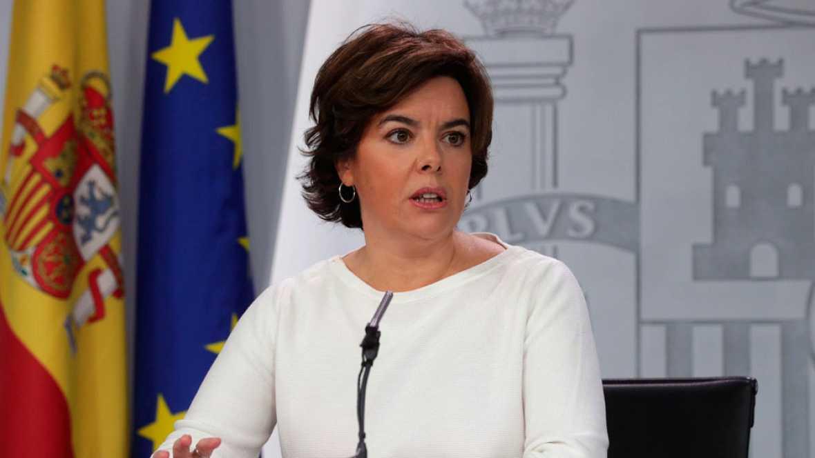 El Gobierno avisa a Puigdemont de que tiene hasta el jueves para rectificar