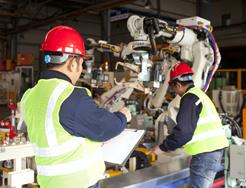 La producción industrial crece un 2,8 por ciento en julio