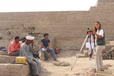 Una investigadora de la Universidad de Navarra participa en la excavación del Templo de Tutmosis III