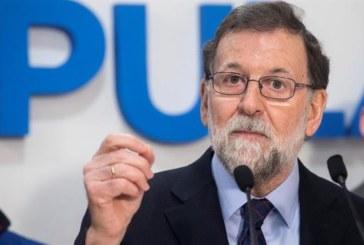 Rajoy: «Mi intención es abandonar la política de manera definitiva»