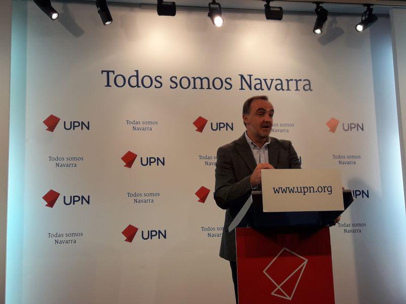 UPN augura un 2018 de «inestabilidad» para un Gobierno de «presidencia coral»