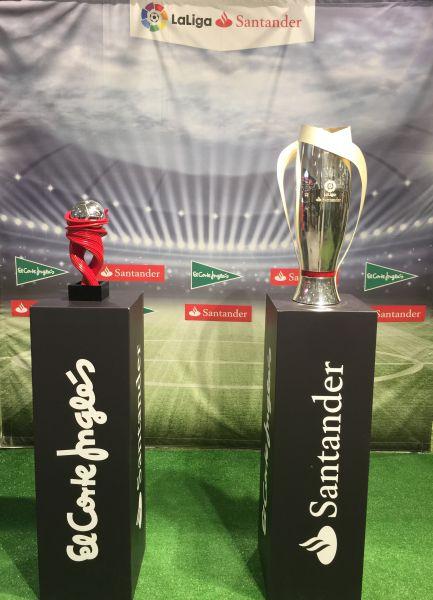 El Corte Inglés de Pamplona recibe el Tour de la Copa de LaLiga Santander