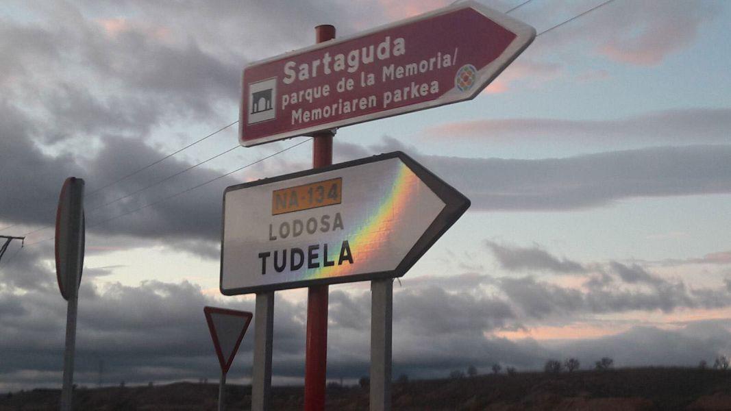 El Gobierno de Navarra completa la señalización del Parque de la Memoria de Sartaguda